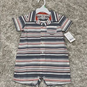 Carter's striped baby romper 18mo